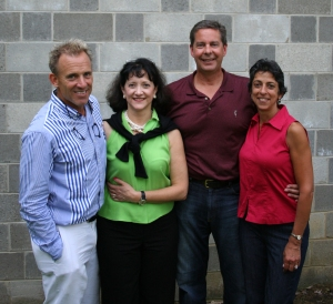 Executive director Harris Ferris and Janet with Jim and Shelley Taylor
