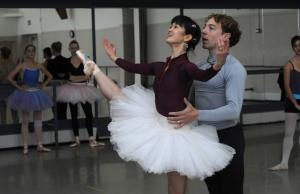 Kumiko Tsuji and Christopher Budzynski