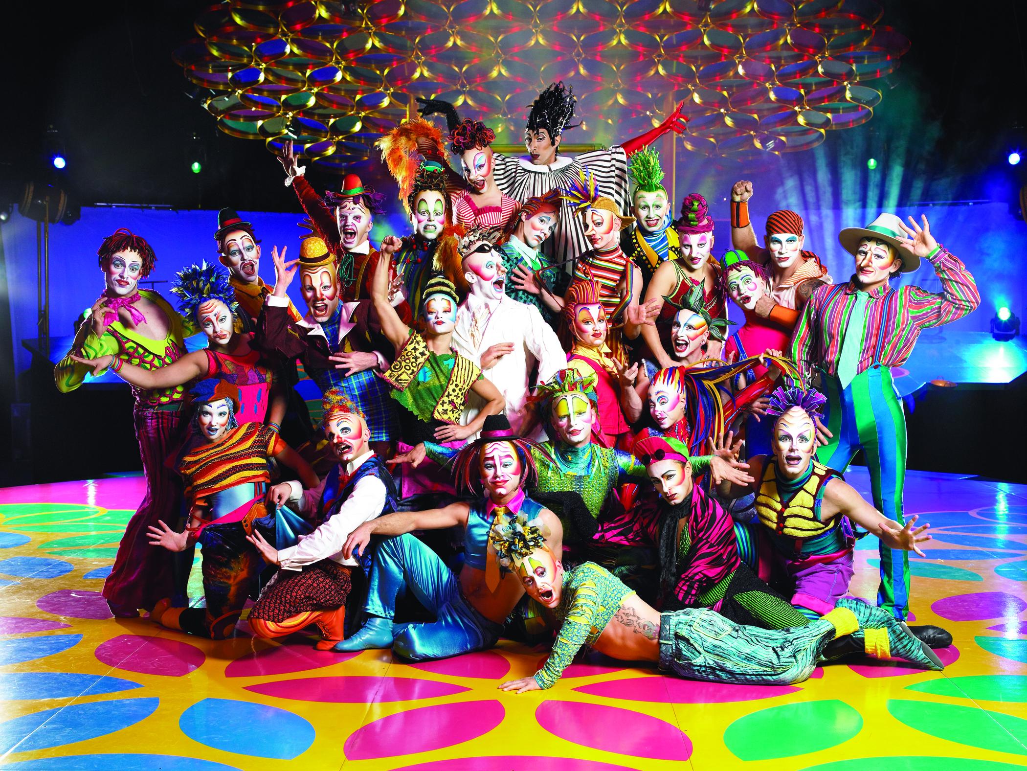 Цирк дю солей 7 фотография