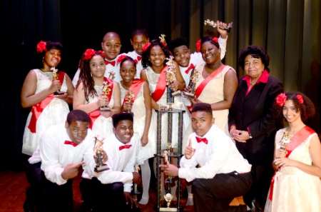 Dancing Classrooms 8th Grade Champs: St. Benedict the Moor!