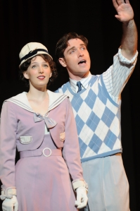 Ephie Aardem (Peggy Sawyer) and Tyler Hanes (Billy Lawlor)