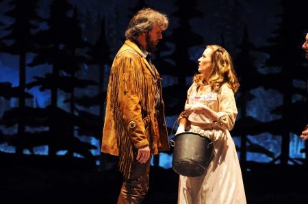 George Dvorsky (Adam Pontipee) and Mamie Parris (Millie)