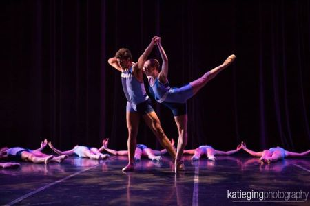 "Alan Obuzor and Amanda Summers in ""Broken Mirror."" Photo: Katie Ging Photography"
