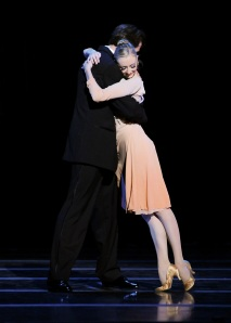 "Robert Moore and Hannah Carter in ""Nine Sinatra Songs."" Photos: Rich Sofranko"