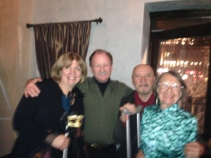 Janet Groom, Terrence Orr, Nicholas Petrov and Patricia Wilde.