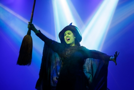 Alison Luff as Elphaba Photos: Joan Marcus