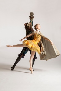 Amanda Cochrane and Robert Moore in Beauty and the Beast