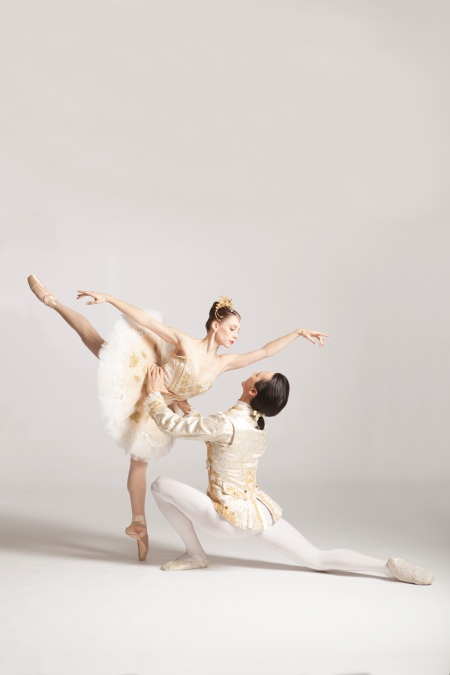 Gabrielle Thurlow and Nurlan Abougaliev in The Sleeping Beauty Photos: Duane Rieder