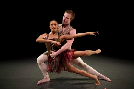 "Nick Fearon and Vanessa Guinto in ""Wolfgang."" Photo: Jeff Swensen"