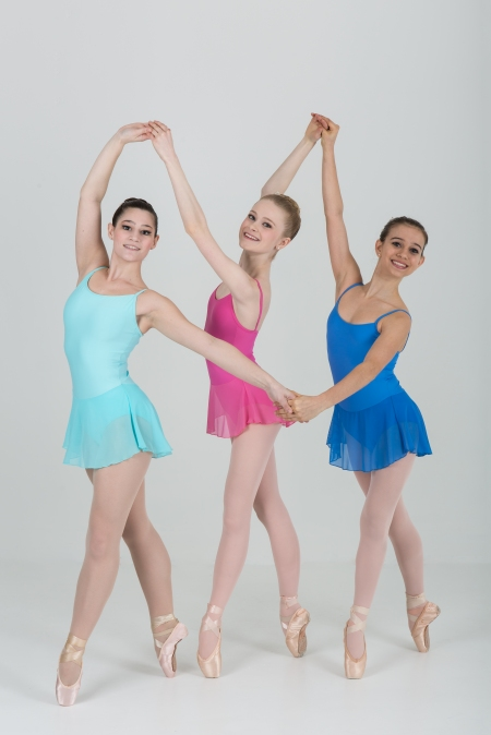 "Ballet Academy of Pittsburgh in Peter Martins' ""Eight Easy Pieces"""