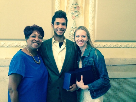 Leslie Anderson-Braswell, Alan Obuzor and Julia Erickson (L to R).