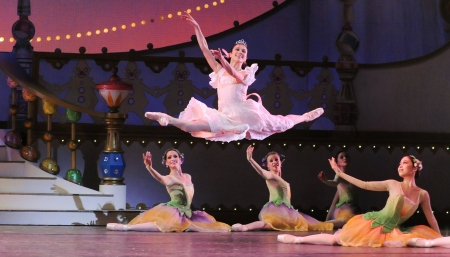 "Christine Schwaner in ""The Nutcracker."" Photos: Rich Sofranko"