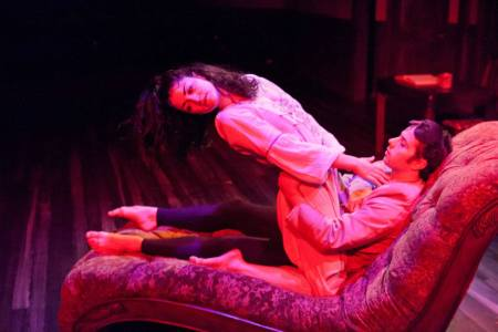 "Elisa-Marie Alaio and Darren Michael MacArthur in ""Uproar."""