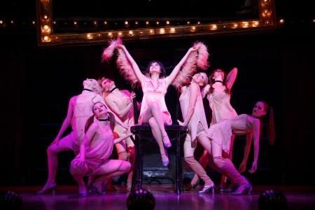 Cabaret Tour Andrea Goss Kit Kat Girls Gayle Rankin Kaleigh Cronin Kristin Olness Jessica Pariseau Kelly Paredes Stacey Sipowicz