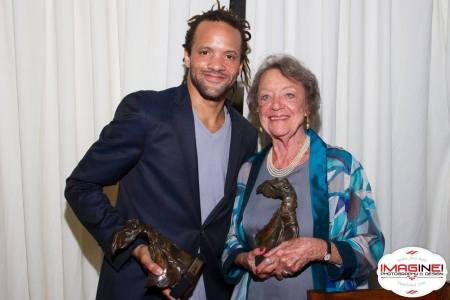 Patricia Wilde with Savion Glover